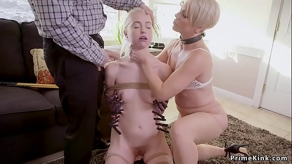 Teen spanked and anal in bdsm with oldies Thumb