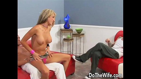 Pornstar makes her husband watch