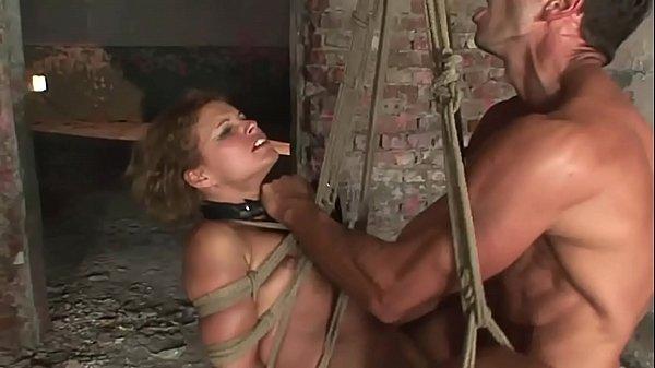 Pretty sex bomb, Szilvia Lauren gets her cruel training. Part 3.