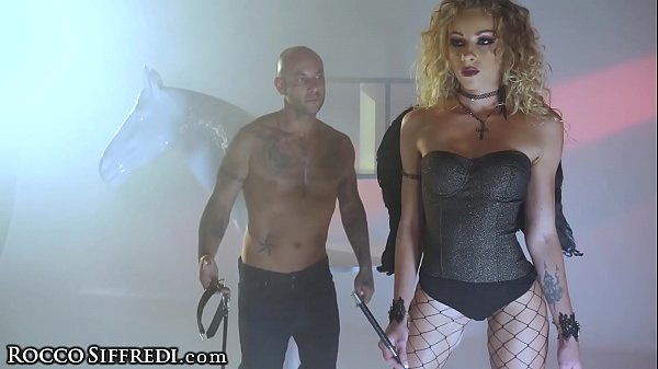 RoccoSiffredi Sex Witch Anal Fucked Hard In Dungeon