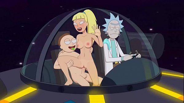 Morty and Annie fuck while Rick drives (Sfan)