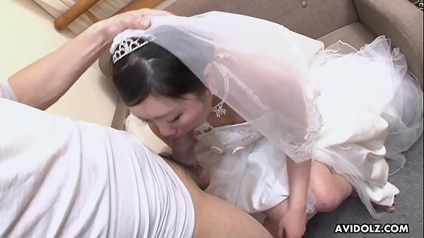 Sweet Japanese woman Emi Koizumi swallows a hairy hard dick