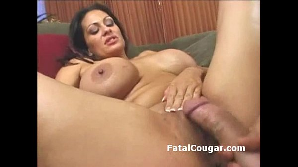 Fat ass older MILF with huge boobs rides a dick...
