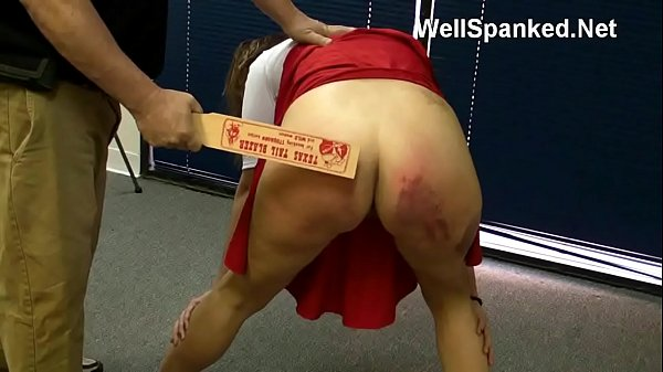 Cheerleader Paddling: Spanked and Analized at t...