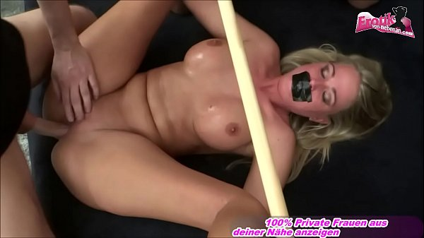German blond tits m. privat amateur threesome