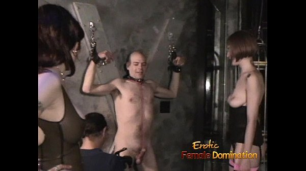 Naughty bald dude enjoys filming BDSM scenes wi...
