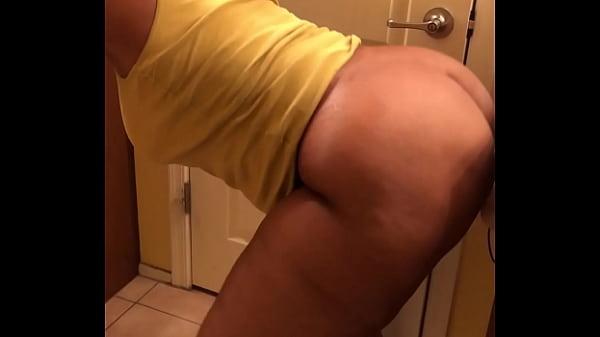 Wife caught fucking dildo in bathroom