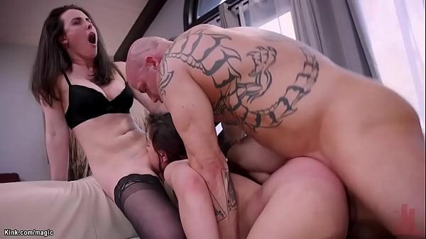 Babe makes stepsister fucking big cock
