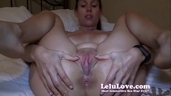 SUPER closeup asshole shots while I finger my tight wet pussy