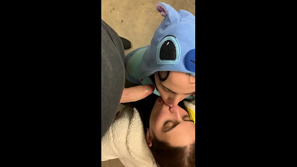 Hot Latinas in onesies give blowjob