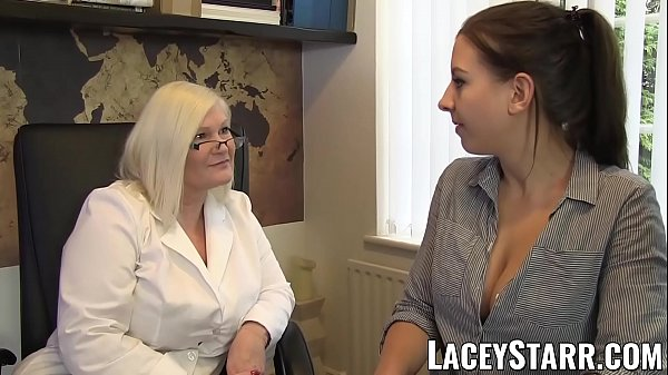 LACEYSTARR - Doctor GILF heals patient with les...