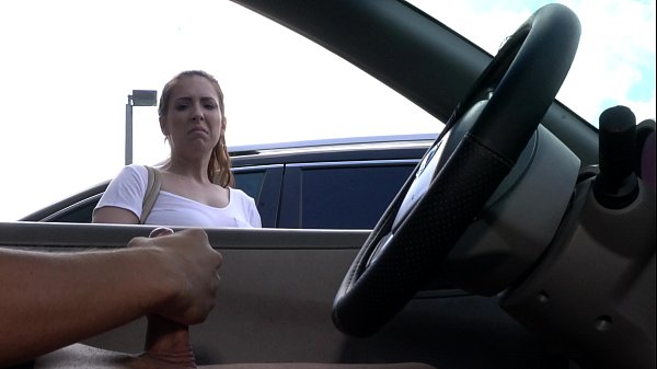 NICHE PARADE - Feisty Latina Giving Me A Lotta Lip For Flashing Cock In Parking Lot Thumb
