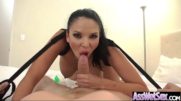 (missy martinez) Superb Girl With Huge Oiled Butt Take It Deep In Her Ass vid-25