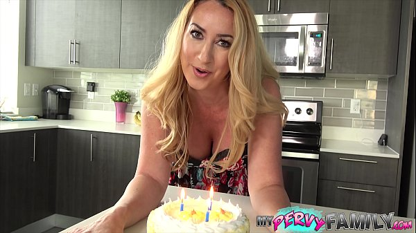 Janna Hicks Surprises Step-Son With Cake And a Creampie! Thumb