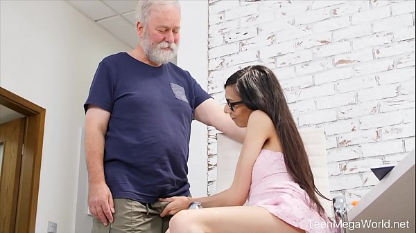 Old-n-Young.com - Ashely Ocean - Blowjob, cowgirl ride, massive facial
