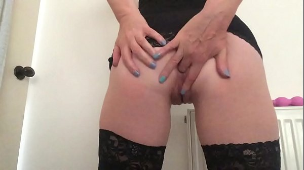 Finger fucking my arse and pussy