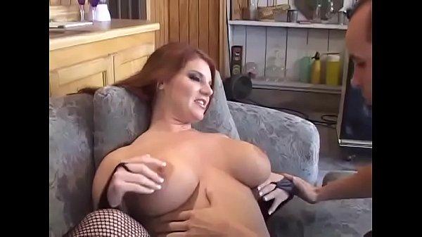 Woman with amazing big boobs hard fucked