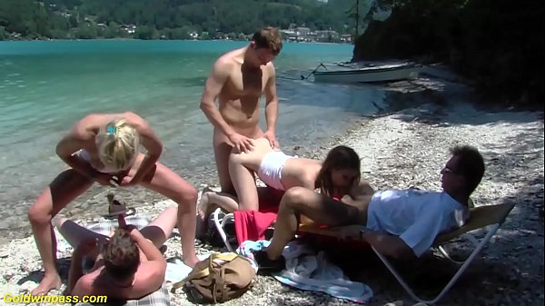 b. public family therapy beach orgy