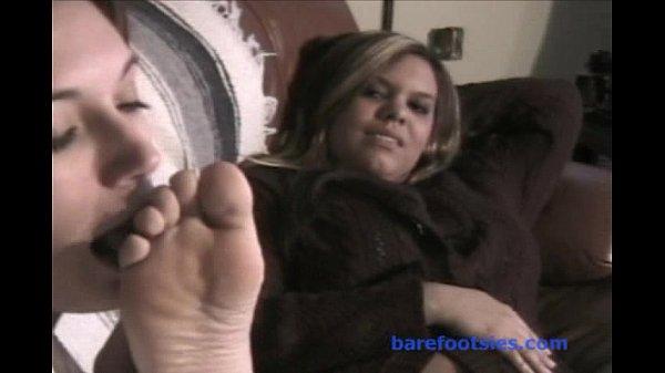 April Enjoys Foot Lick (Part 1) Thumb