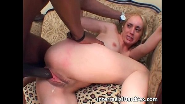 b. interracial anal fucking sex