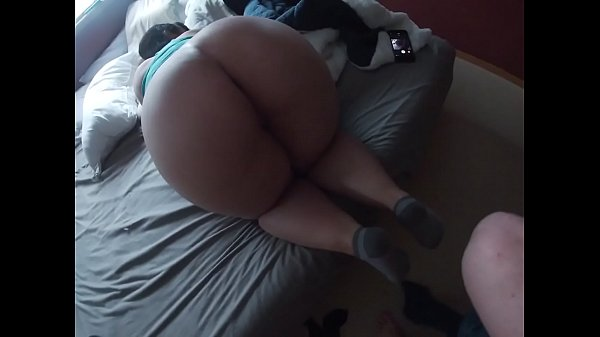Bbw booty taking that long dick and cumshot