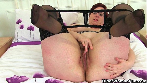 British milfs Jayne Storm and Lacey Starr fuck a dildo