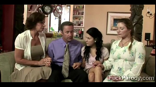 Perv fucks 3 wives in what it seem not to be a ...