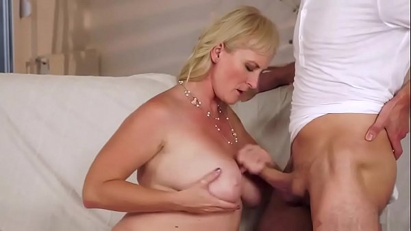 Milf blonde anal with boy anal and pussy Monika Wipper