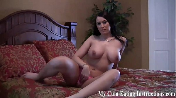 Jerk it and eat up all your cum for me CEI