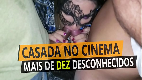 Slutwife at the sex theater gangbanged by more than 10 strange men in front of her cuckold - Cristina Almeida - Kratos Part 2/4