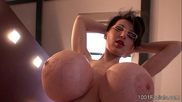 1001-Facials - BlowJobQueen PBD with sexy glasses