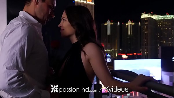 PASSION-HD Fuck and facial after date night with busty brunette Lily Love