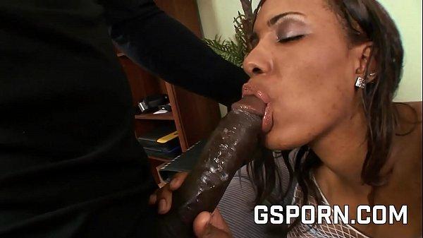 Big ass ebony milf Monica Keyys fucked by black...