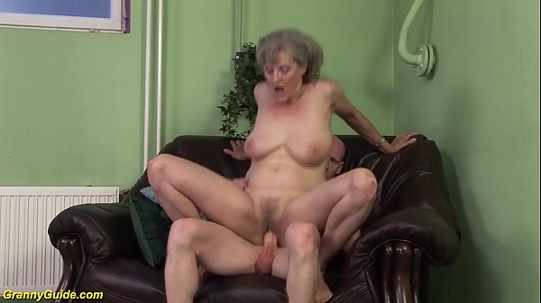 horny 76 years old granny first time big cock f...