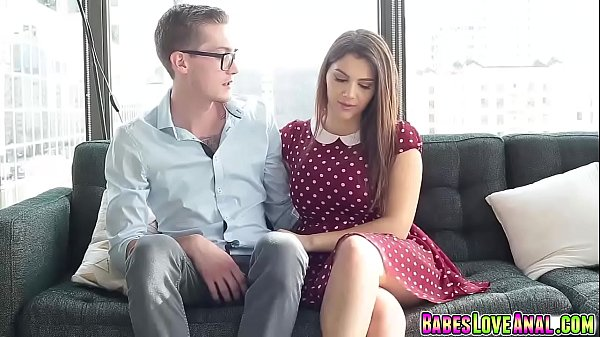Valentina Nappi lubing up her boyfriends big cock