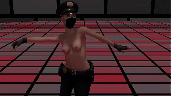 Naked Cops Striptease Dance Porn Animation