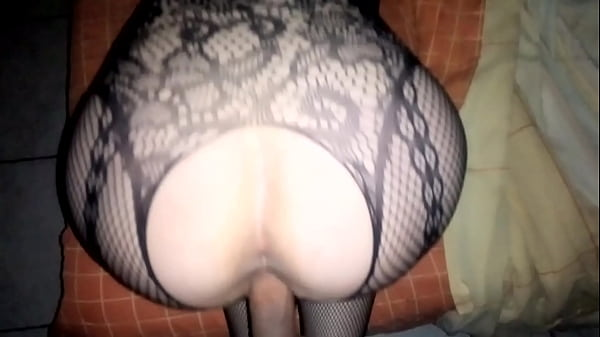 My rich wife in four with a fishnet dress