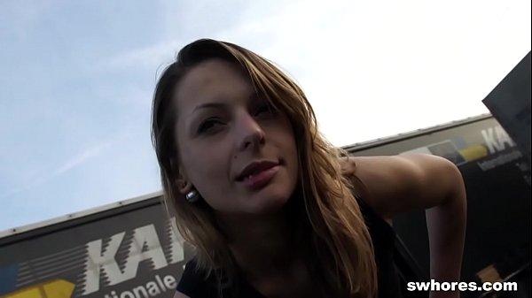 Lucky catch: gorgeous street slut fucked for little money Thumb