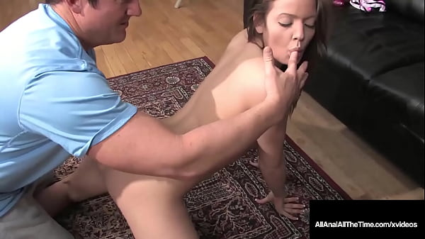 Hard Cock Gaping Anal Penetration With Tight 18yo Teen Ashlyn Leigh!