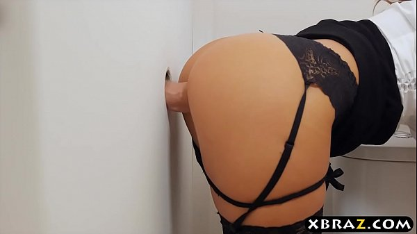 Big titted MILF boss office gloryhole suck and ...