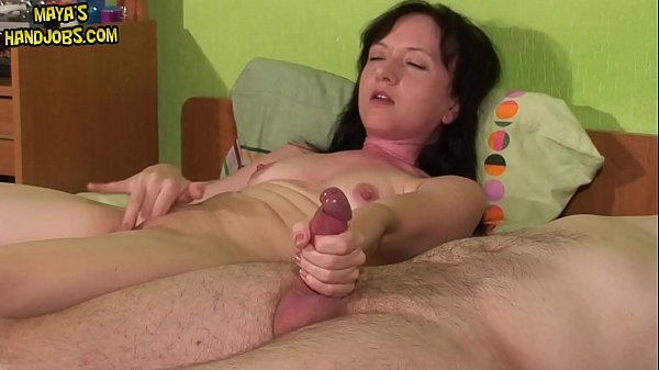 two simultanous orgasms and huge cumshots