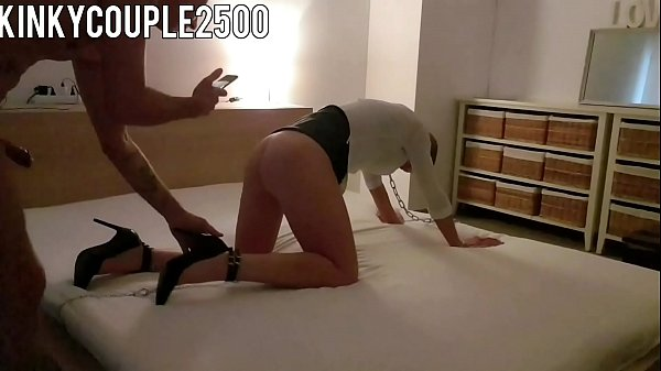 Hot milf gets tied up and fucked in ass