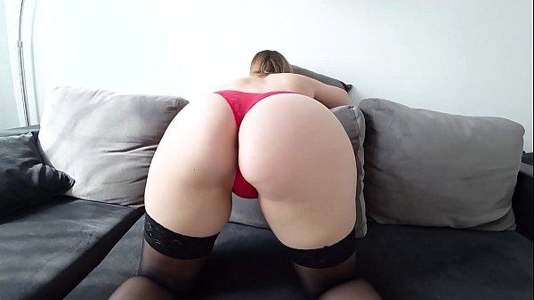 Sex in stockings and through pink panties