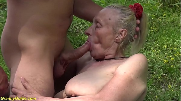 chubby 85 years old granny first time outdoor sex Thumb