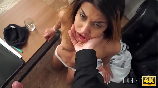 Debt4k. Sex with hot vixen with sexy tattoo and slender body is the perfect payment Thumb
