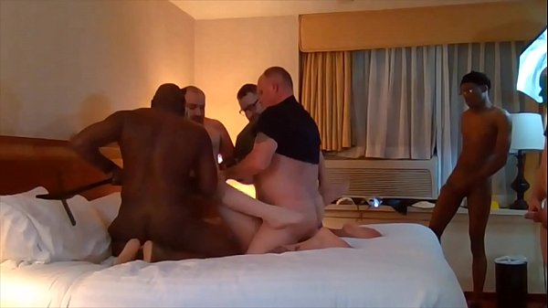 RECORDED LIVE STREAM of Ashley LaShae GANGBANG includes facial and BBC