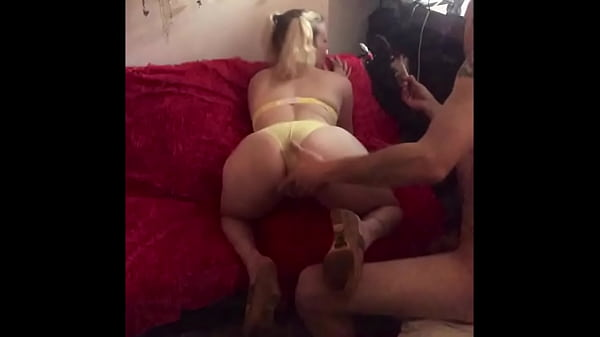 Ass in the air fucking Thumb