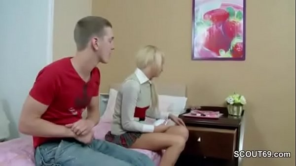 Step-Bro caught Virgin Sister and seduce To fuc...