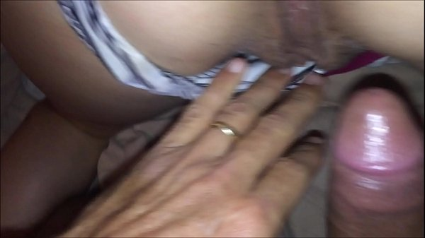 T&A 594 - Fucking French Girl in Satin Lingerie, White Panty with a Fushia Nightie