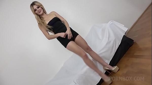 Liza Black casting with big black cock KS056
